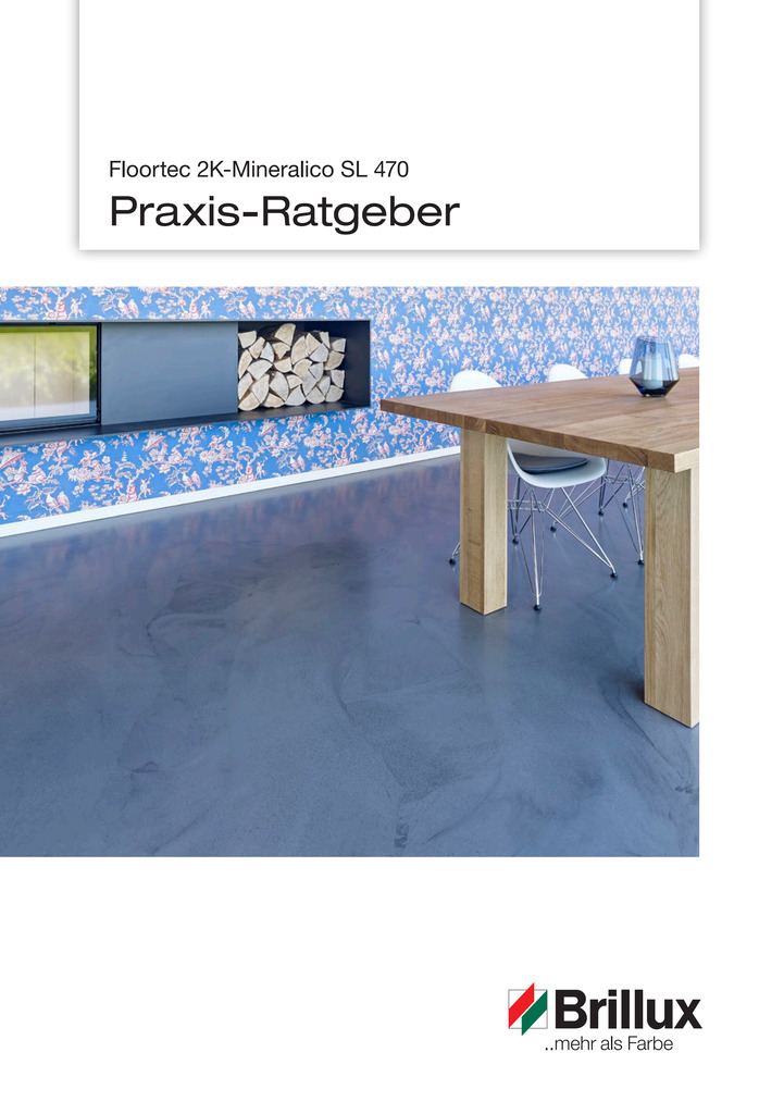 Floortec 2K-Mineralico SL 470   Praxis-Ratgeber