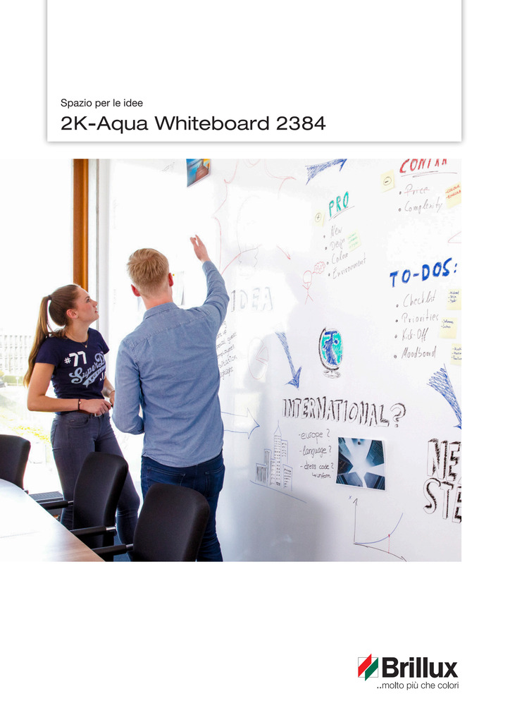 2K-Aqua Whiteboard 2384 | opuscolo