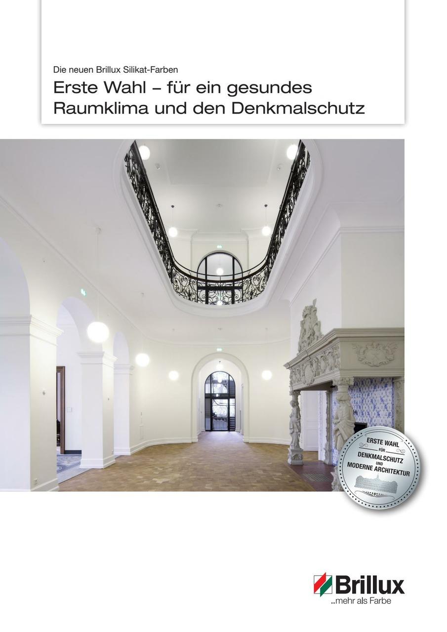 Brillux Silikat-Farben_Broschüre-CH