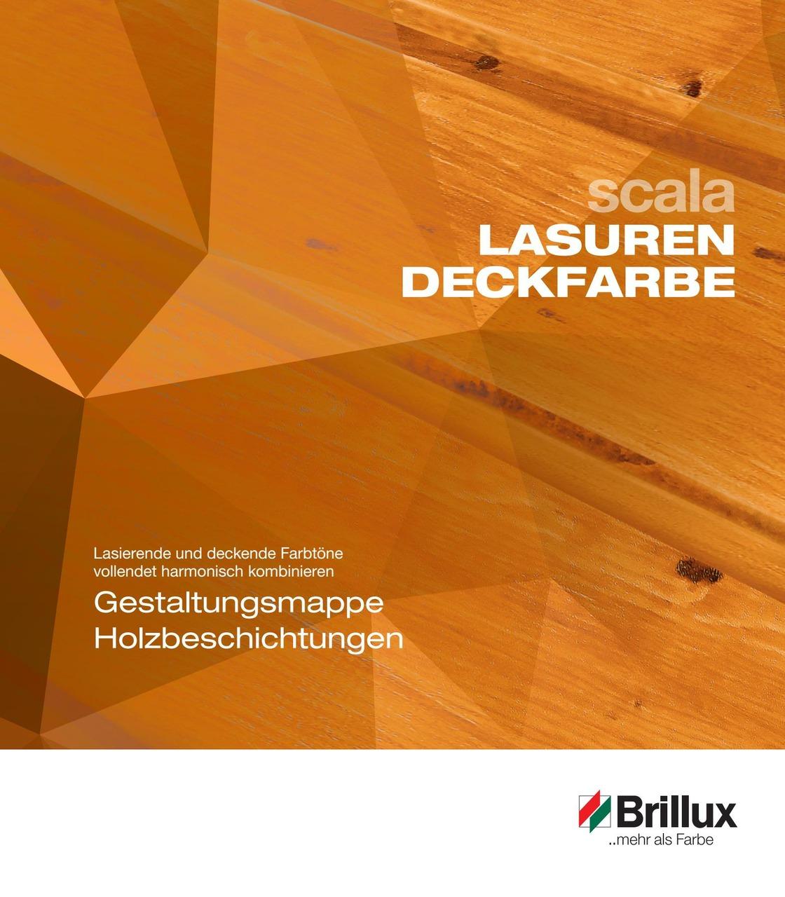 Gestaltungsmappe Holzbeschichtungen
