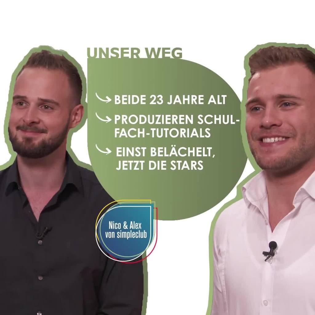 Unser Weg - simpleclub Gründer | Video auf Instagram