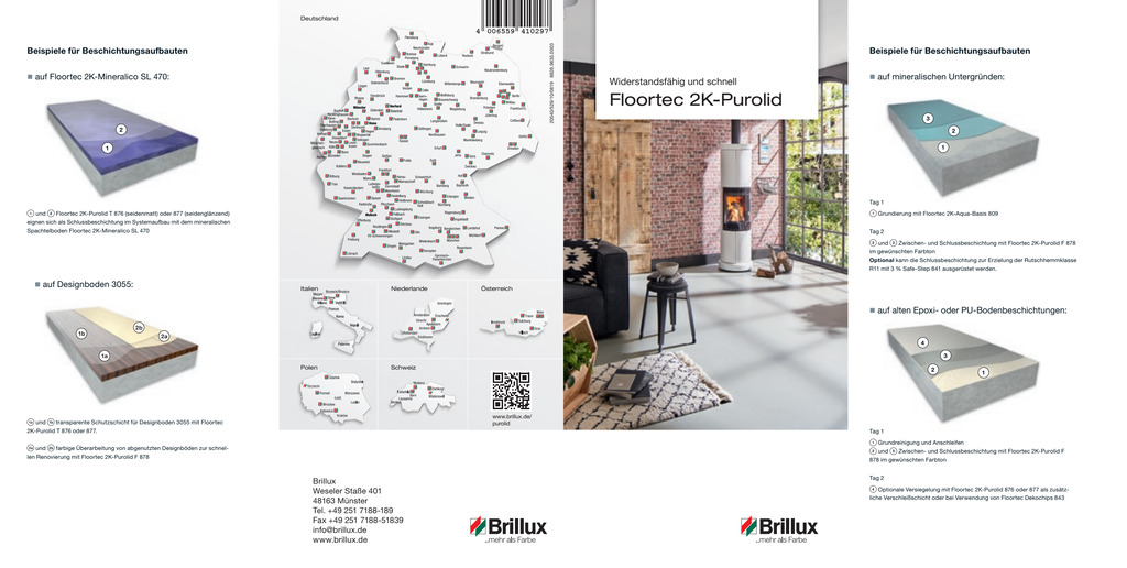 Floortec 2K-Purolid | Flyer